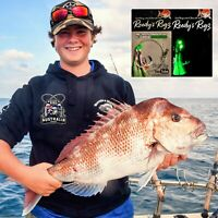 4x Snapper Rigs Paternoster 80lb Lumo 5/0 Quality Tackle