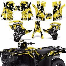 Graphic Kit Honda Foreman 500 ATV Quad Decals Stickers Wrap 2015 2016 REAP YLLW