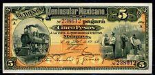MEXICO  - FIVE  PESOS  BANKNOTE