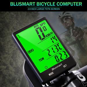 Wireless Bicycle Bike 21 functions LCD Computer Odometer Speedometer Back light