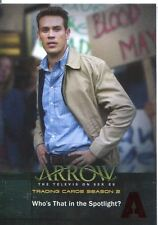 Arrow Season 2 Red Foil Parallel Base Card #6 Who's That in the Spotlight?