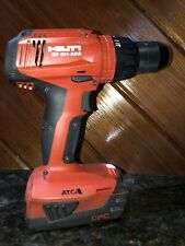 Hilti SF 6H-A22 22Volt Lithium-Ion 1/2 in. Hammer Drill Driver Used Plus Battery
