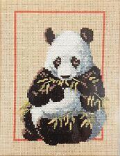Monarch Horizons Take Alongs Counted Cross Stitch Kit Panda 5 x 7
