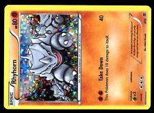 PROMO POKEMON MAC DO 2015 MCDONALD'S CARD HOLO N°  8/12 RHYHORN