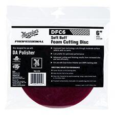 Meguiar's DFC6 Professional Soft Buff DA Foam Cutting Disc 6 Inch