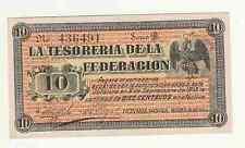 Mexico  Messico  10 pesos 1914 La tesoreria de la federacion FDS  UNC  rif 2683