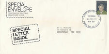 Stamp 1975 J Lyons Prime Minister on Ciba Pharmaceuticals Company cachet Fdc