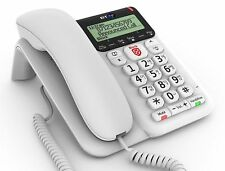 BT Decor 2600 Corded Telephone& Caller ID Advanced Call Blocker & Answer Machine