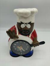 Vintage South Park Chef Singing Alarm Clock 1999