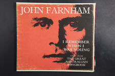 John Farnham – I Remember When I Was Young - Songs From The Great (Box C384)
