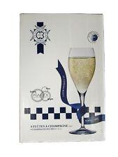 Le Cordon Bleu Champagne Flutes Kwarx Crystal 4pk