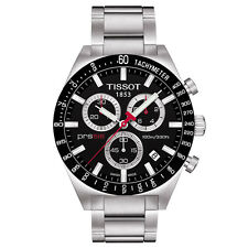 TISSOT PRS 516 T044.417.21.051.00 CHRONOGRAPH MENS WATCH STAINLESS STEEL QUARTZ