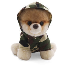 "NEW Gund - Itty Bitty Boo Dog in Camo Hoodie - 5"" 4033195"
