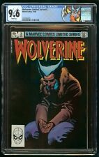WOLVERINE LIMITED SERIES #3 (1982) CGC 9.6 WHITE PAGES CUSTOM LABEL