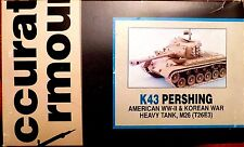 1/35 Accurate Armour M-26 Pershing K-43 Oct 1992 OOP & Very Rare