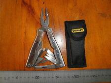 STANLEY 92-841 STAINLESS STEEL 16 in 1 MULTITOOL wt POUCH