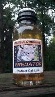 PREDATOR-Call Lure for Trapping and Hunting Coyote, Fox, Bobcat, Badger. Lynx