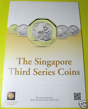 2013 Singapore Third Series New Coins Design MAS Information Launch Brochure