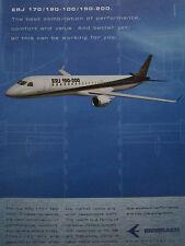 5/2001 PUB EMBRAER COMMERCIAL AVIATION ERJ 170 190-100 190-200 AIRLINER AD