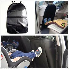 One Pcs Washable Black Car Interior Seat Back Children Anti-Kick Cushion Pad Mat