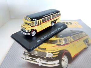 Mercedes Benz 1112 Argentina Bus Linea 60 Rare Diecast Scale 1:72 New W/Magazine