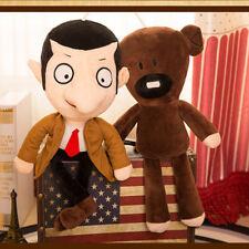 30cm Movie Mr Bean + Teddy Bear Soft Doll Stuffed Animal Plush Toy Kid Xmas Gift
