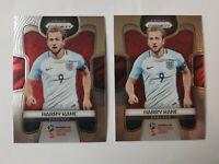 2 x Panini Prizm World Cup 2018 - #62 - Harry Kane - England - Base Card. Invest