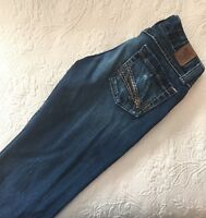 """BKE Womens Jeans Size 26x31.5 Actual 29""""x29"""" Sabrina Stretch Bootcut Flare"""