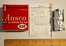 ANSCO 620 All-Weather Pan Film 1-Pack - Vintage / Exp 1957 Sealed --  1314