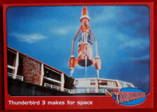THUNDERBIRDS - Thunderbird 3 Makes for Space - Card #20 - Cards Inc 2001