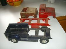 Vintage tonka truck cabs and bed parts No 1
