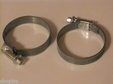 Norma Hose Clips / Rubber Pipe Clamps, 35 - 50mm Alu-Zinc W1, Jubilee Clips