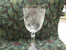 Fostoria Crystal  BUTTERCUP Low Goblet 6 1/4""