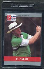 1990 Pro Set Golf J.C. Snead #99 Mint