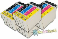 16 T0551-4/T0556 'Duck' Compatible Non-OEM Ink Cartridges for Epson Stylus Print