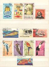 Q8023 - PANAMA - 1967 - SERIE COMPLETA USATA - VEDI FOTO