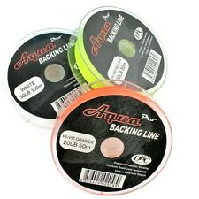 AquaPro, Backing Fly Line, Braided Polyester, Low Stretch Trout Salmon 20lb 30lb