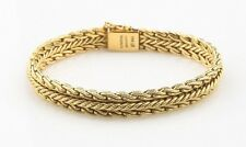 Tiffany & Co. Vintage 18k Yellow Gold Woven Mesh Bracelet W. Germany Unique!