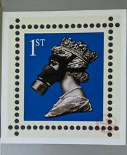 James CAUTY CNPD Stamp of Mass Contamination 1st class signed LTD Edition 313