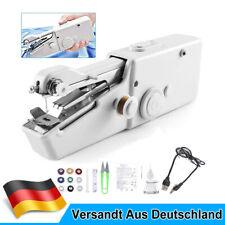 Nähmaschine Elektrische Mini Handnähmaschine Nähen Stitch Werkzeug Tragbare