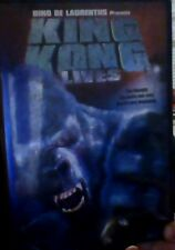 King Kong Lives (DVD, 2004, Widescreen)RARE KING KONG, LIKE NEW, INCLUDES INSERT