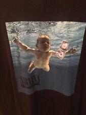 Nirvana Nevermind T Shirt Album Cover Band Tultex Black Size 2XL New