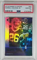 Darnell Savage 2019 Panini Illusions #94 Rookie Card RC PSA 10 LOW PSA POP!