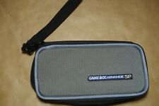 Nintendo Gameboy Advance SP Case - For Console, Charger & Games (gray, black)