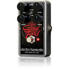 Electro-Harmonix Bass Soul Food Overdrive Guitar Effect Pedal