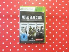 Metal Gear Solid HD Collection XBOX 360 in OVP mit Anleitung - Teil 2 + 3 + Peac
