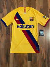 Nike VAPORKNIT FC Barcelona Fussball Auswärtstrikot 2019/2020 | Größe XS | NEU