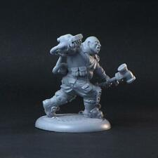 Brother Vinni Miniatures Postapocalypse Ogroid With Hammer