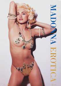 MADONNA - Erotica 1992 - Music Album Poster Art Print