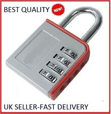 New 4 Digit Home Door Locker Combination Toolbox Lock Luggage Suitcase Padlock